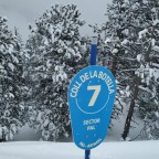 The Coll de la Botella blue run was very quiet and with a lot of powder!