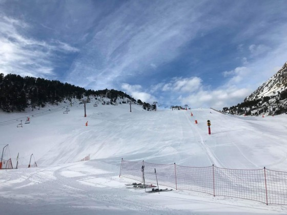 Quiet slopes are our favourite!