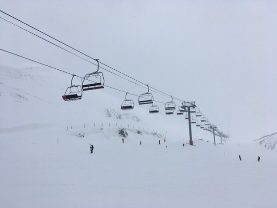Whiteout in Arinsal