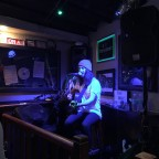 Caoin playing live music in the Derby Irish Bar