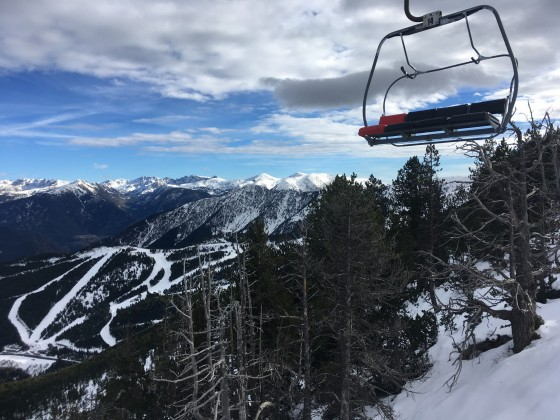The views from the chairlift Coll de La Botella are our favourites!