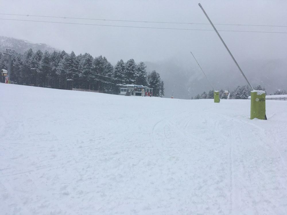 The Pal ski school meeting points