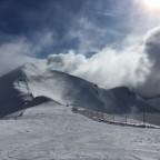 The peak of La Capa with plenty of snow
