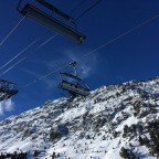 The chairlift Les Fonts in Arinsal