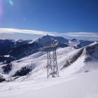 View from the top of Arinsal.