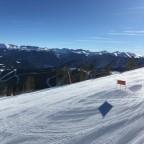 The slope Coll De La Botella was quiet and sunny today
