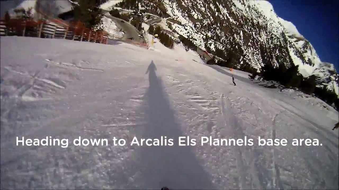 Arcalis ski & ride 16/12/2013