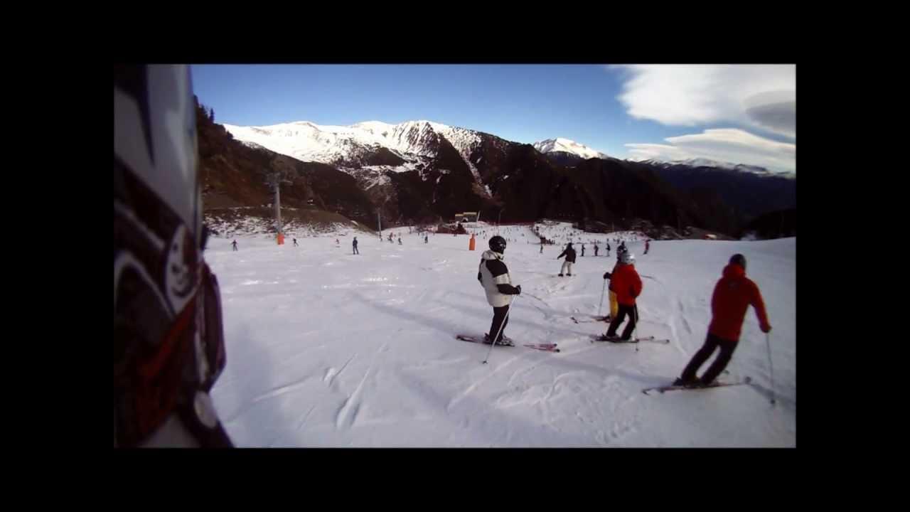 Arinsal, Andorra - January 7th 2012