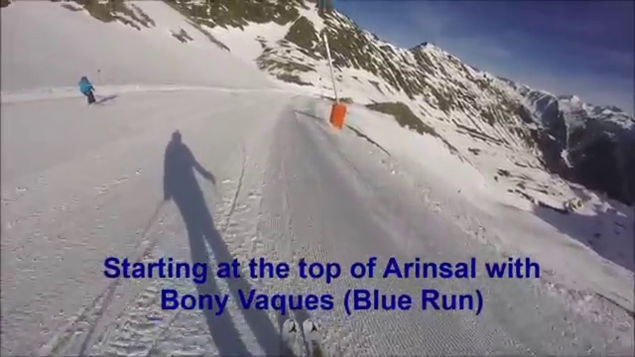 Skiing in Arinsal 04/12/15