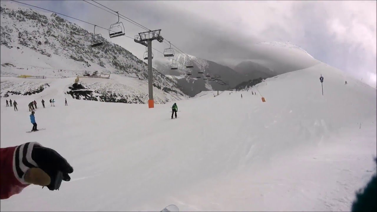 Skiing in Arinsal 28/02/16